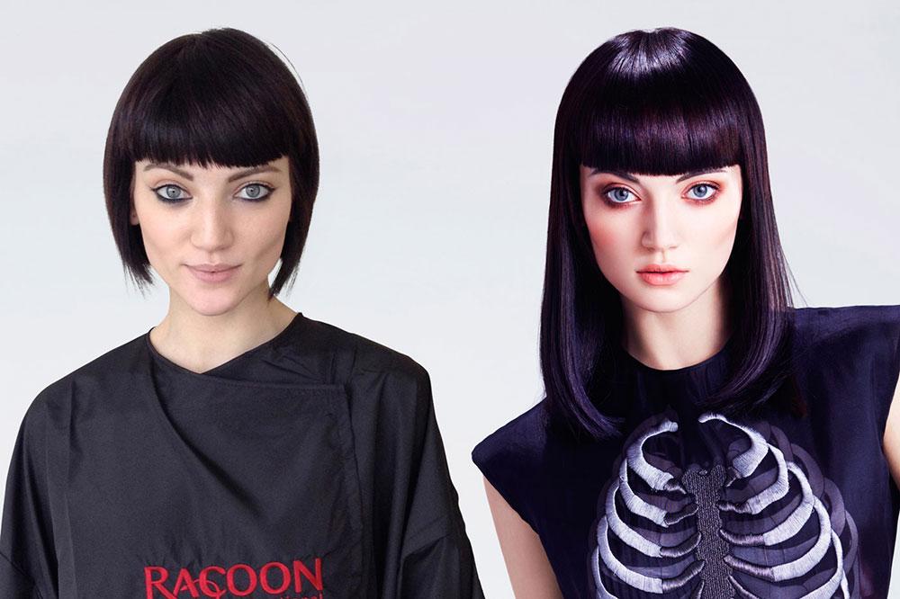 przedłużanie włosów racoon